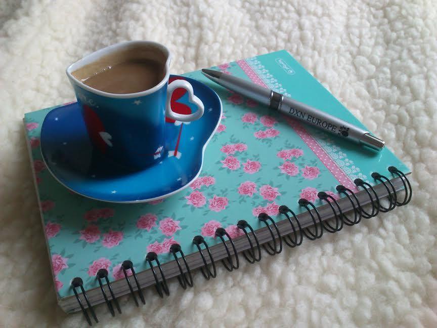 DXN kávé és jegyzetek